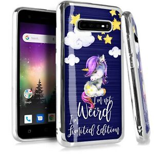 CHROME-BRUSHED-Case-For-Samsung-2018-19-Phone-Cover-LIMITED-EDITION-UNICORN