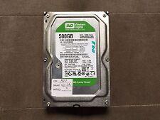 """WD Caviar Green disk drive 500GB internal 3.5"""" SATA 3 Gb/s 5400 rpm WD5000AADS"""