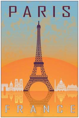 Paris Je Taime Eiffel Tower inch Poster 24x36 inch