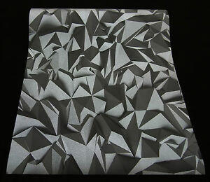 42097 50 Vliestapete Mit 3d Optik Times Tapete Anthrazit Silber