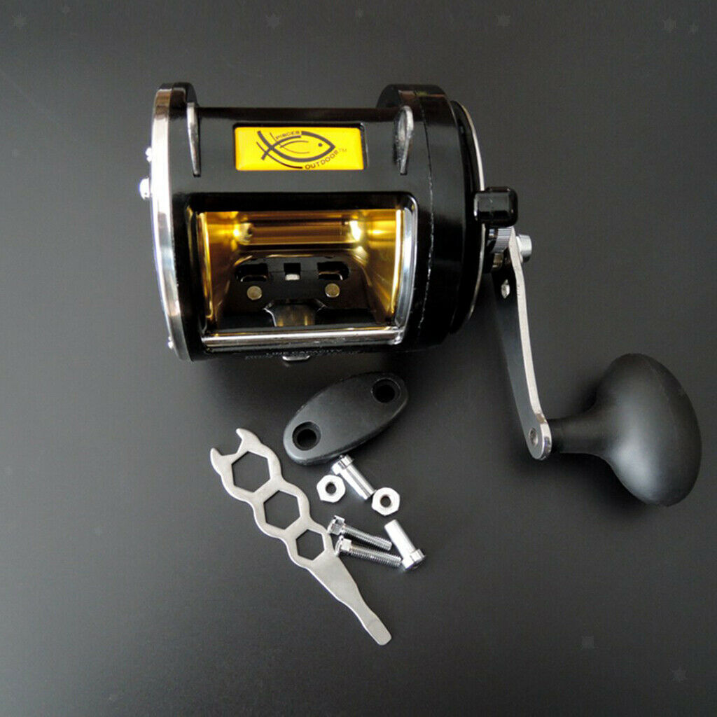 Big Game Fishing Reel Saltwater Casting Trolling Drum Reel Drag 25kg55lbs