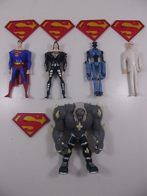 Death Of Superman Vs Doomsday 5 Character Action Figure Set Dc