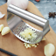 Stainless Steel Manual Garlic Press Crusher Squeezer Masher Kitchen Tool