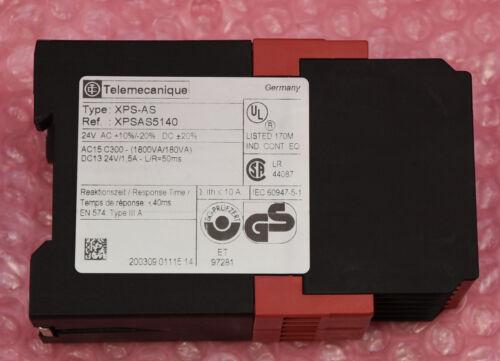 Telemecanique PREVENTA Sicherheitsrelais Typ XPS-AS XPSAS5140
