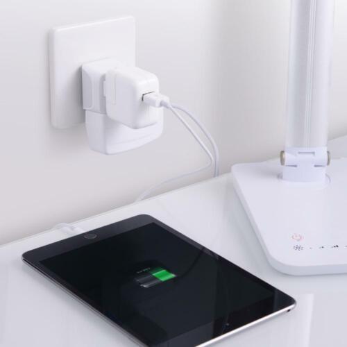 Dual USB Palestine Travel Adapter Plug Ceptics USA to Israel CTU-14 Type H