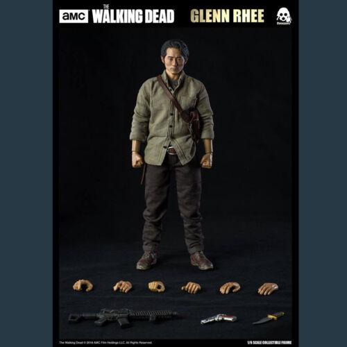 """ThreeZero 3Z0038 1//6 The Walking Dead Glenn Rhee Male Model 12/"""" Action Figure"""