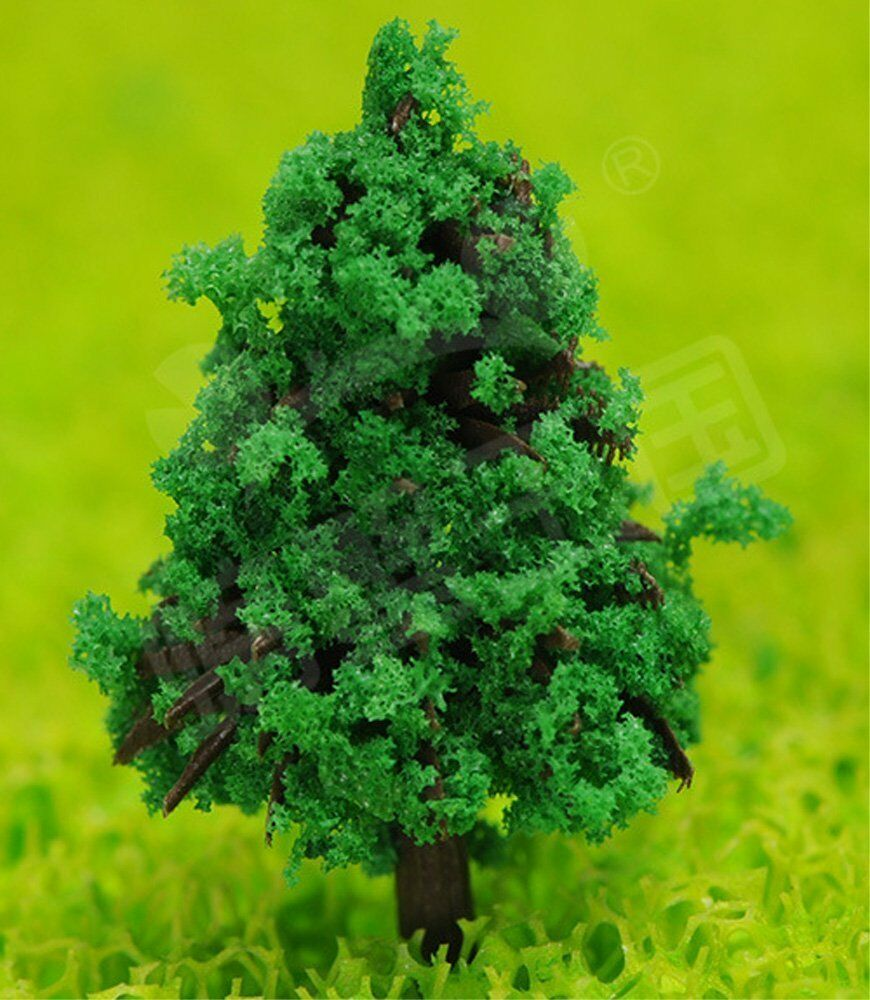 N Gage Diorama 6cm Large trees for model 50 pcs Ship from Japan