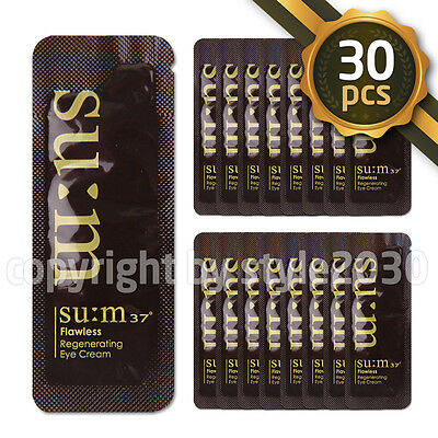 SU:M37 Flawless Regenerating Eye Cream 1ml x 30pcs (30ml) Wrinkle SUM37