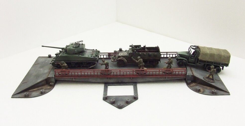 'SON CANAL BRIDGE' - 28mm  - ASSEMBLED MDF & PAINTED TO COLLECTOR'S STANDARD
