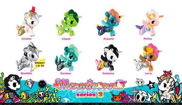 FULL CASE OF 16 MERMICORNO SERIES 2 BLIND BOX TOKIDOKI SIMONE LEGNO