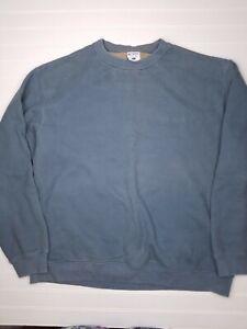 Columbia-Sportswear-Mens-Sz-XL-Crew-Fleece-Sweater-Long-Sleeve-Pullover-Gray-f24