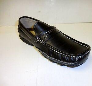 5124184b75c Easy Strider Boys Slip - on Dress Shoes 23702 Ast 2 Sizes  13