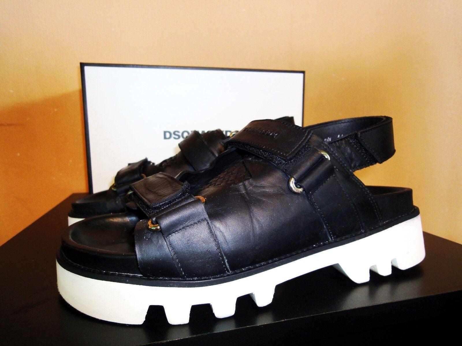 Men's/Women's Dsquared2 sandals Exquisite (middle) workmanship New in stock Caramel, gentle