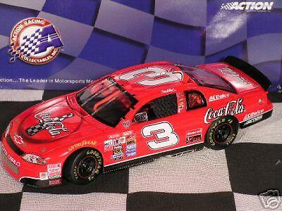 Earnhardt  3 Coca Cola 1998 Monte Carlo Elite Mint