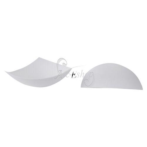 12Pcs Bra Cup Pad Insert Triangle Chest Breast Bikini Underwear Sport Removable