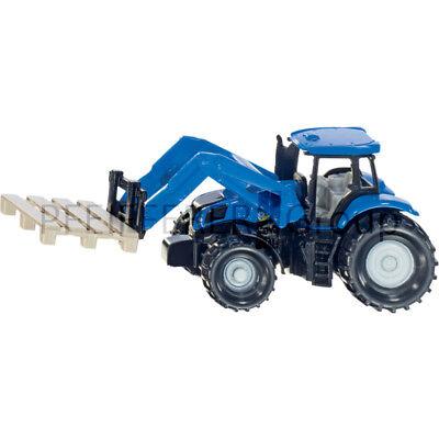 Spielzeug Siku Super 1:87 Traktor Mit Palettengabel Und Palette Um Eine Reibungslose üBertragung Zu GewäHrleisten Blechspielzeug