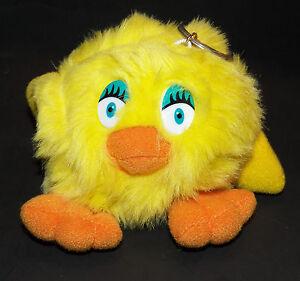 Yellow Chick Plush Keychain Stuffed Animal Toy Chicken Duck Easter