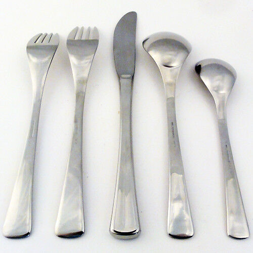 STUART Glossy by WMF FLATWARE 5 Piece Place Setting Setting Setting NEW NEVER USED made in Japan 10b84e
