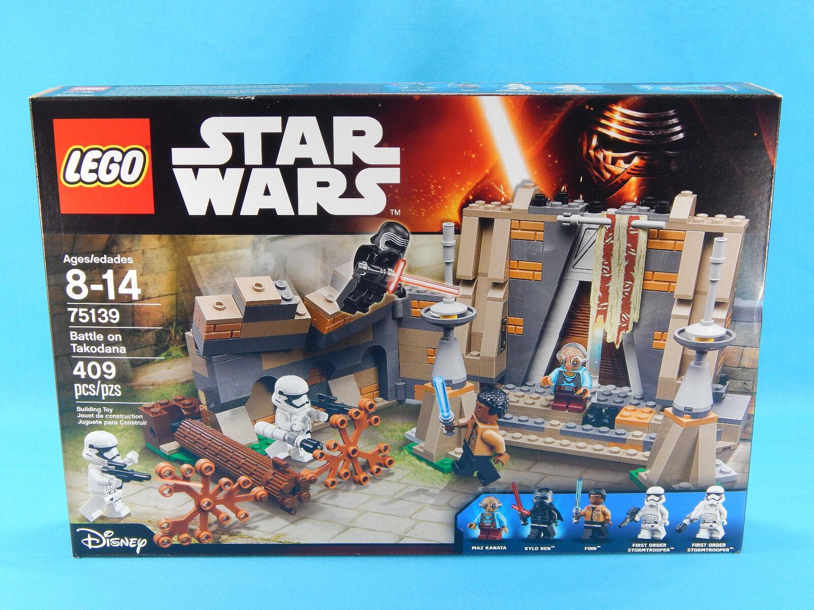 Lego Star Wars 75139 Battle on Takodana 409pcs Sealed 2016