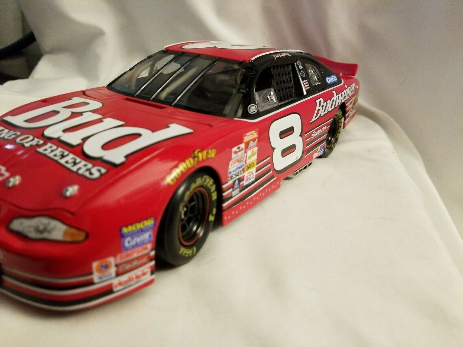 Action  Dale Earnhardt, Jr. Budweiser 1 18 ROOKIE 2000 Chevy Limited Edition