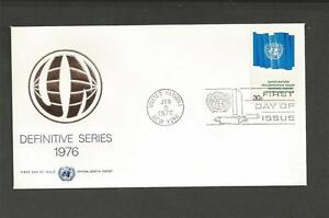 UNITED-NATIONS-1976-30c-DEFINITIVE-F-D-COVER