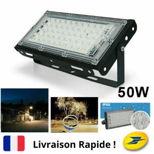 Spot-Lampe-Projecteur-Exterieur-Puissant-50-LED-Eclairage-Maison-Jardin-Terrasse