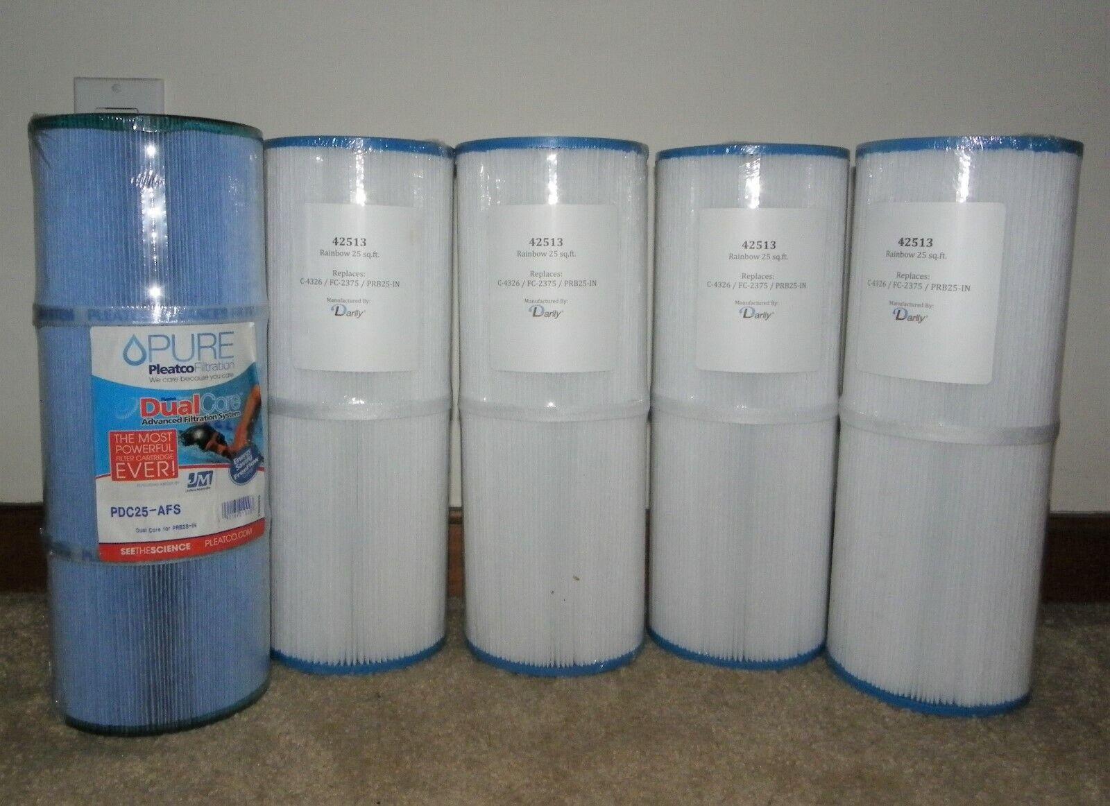 Lote 5 Darlly & pura Filtros de Piscina SPA reemplaza a C-4326 FC-2375 PRB25-IN