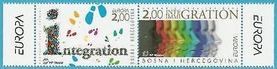 In Aroma Block 8 Integration Einfach Bosnien-herzegowina Aus 2006 ** Postfrisch Minr.171-172 Duftendes
