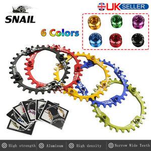UK-Single-AL7075-T6-30T-Round-Narrow-Wide-Chainring-104bcd-MTB-Road-Bike-bolts