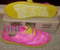 Bobs Skechers Generous Hot Pink Shoes Womens Casual