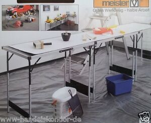3-teiliger-Multifunktionstisch-Tapiziertisch-Malertisch-Campingtisch-Gartentisch