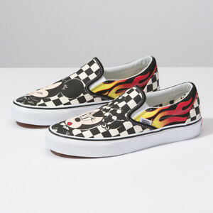 7db23e1f5c New VANS x Disney Mickey Mouse Slip-on Skate Sneakers Shoes ...