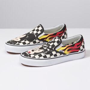 806521b7008e New VANS x Disney Mickey Mouse Slip-on Skate Sneakers Shoes ...