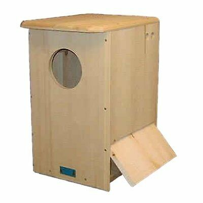 Barred Owl House Perfect to Mount on High Trees W// Side Opens for Easy Cleaning