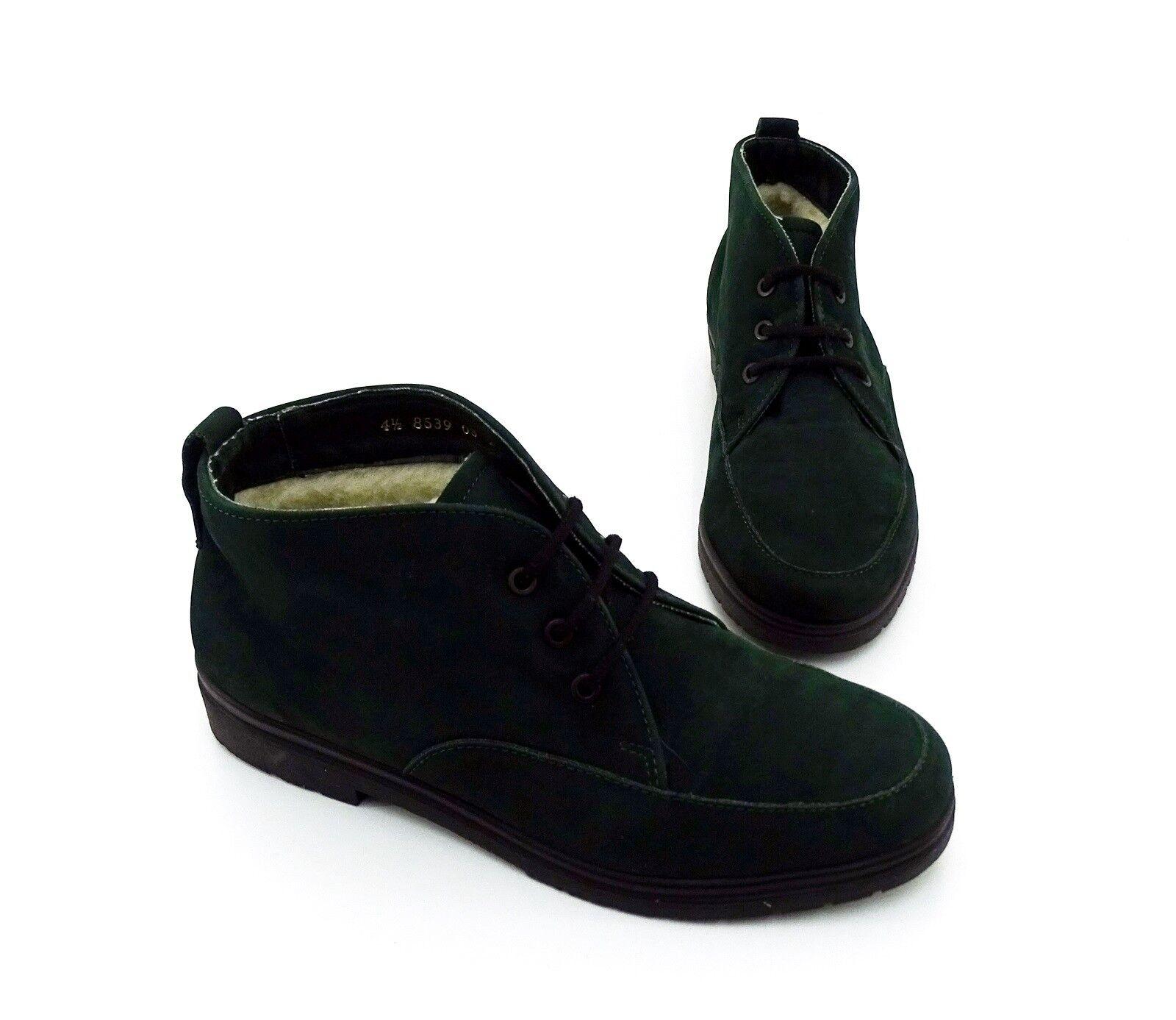 Chaussures basses Rohde Bottines Fermeture À Lacets Véritable Cuir Vert Taille 4,5 = 37,5