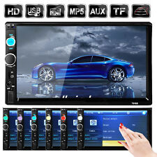 "7"" Double 2DIN Car MP5 Player Bluetooth Touch Screen Stereo Radio AUX Player MG1"