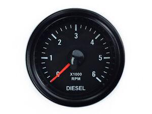 Diesel-Drehzahlmesser-Lichtmaschine-Zusatzinstrument-52-Retro-Instrument-Anzeige