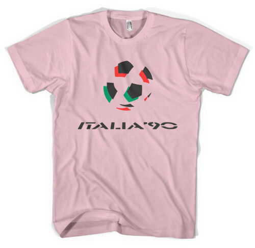 NEW World Cup Logo/'s Italia 90 Football Unisex T-Shirt All Sizes Colours