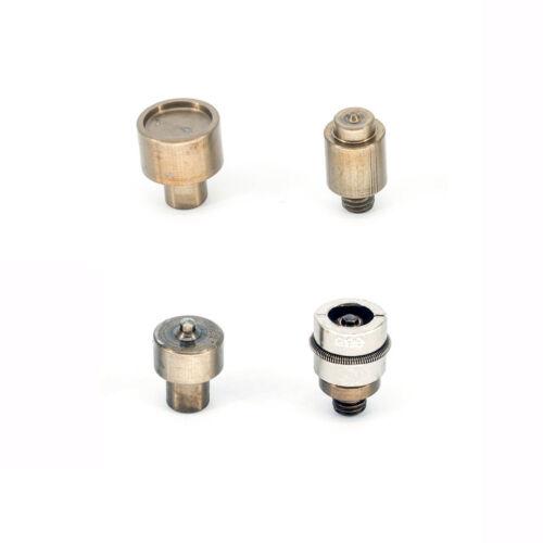 Herramienta de fijación Press Stud Snap Sujetadores Die conjunto y trabajo de tela de Alicates Leather Craft