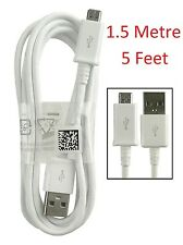 Genuine 1.5 Metre / 5 Feet SAMSUNG Galaxy S7 S6, S6 EDGE Charger Micro USB Cable