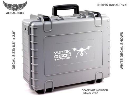 Case Decal Sticker Quadcopter UAV Drone Yuneec Q500 Typhoon Window