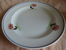 P. REGOUT SPHINX MAASTRICHT ontbijtbord bloemen 21cm bord 1941 breakfast plate