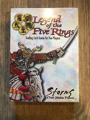 Legend Of The Five Rings Storms Over Matsu Palace Starter Set