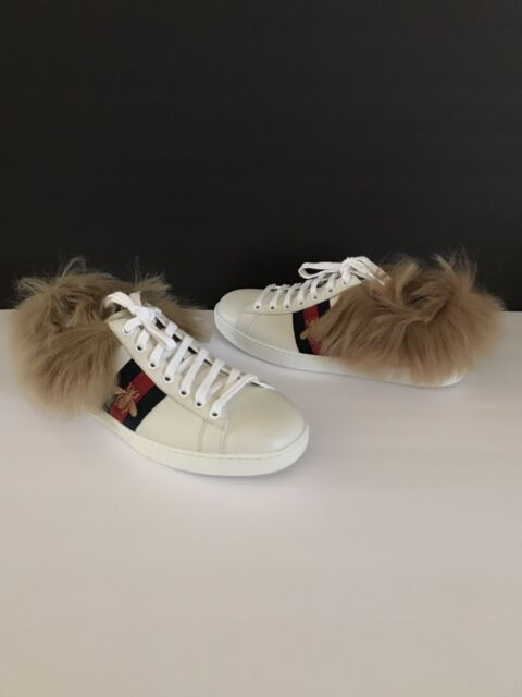 63addad7b Gucci New Ace Dragon-Embroidered Sneaker, SIZE 39 1/2 G (9 1/2 US ...