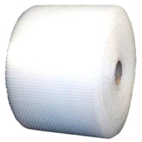 Bubble 3/16x 24 Padding Wide Small Mailing Roll 700' Ft Bubble + Wrap Roll
