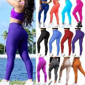 Womens-High-Waist-Yoga-Pants-Gym-Anti-Cellulite-Sports-Leggings-Fitness-Trousers