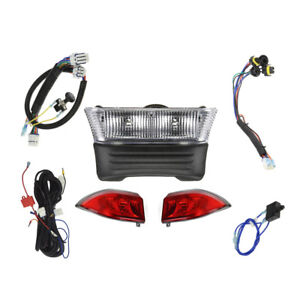 Club Car Precedent BASIC LED Golf Cart LEGAL LIGHT KIT& Bucket ...