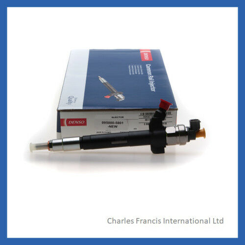 FORD TRANSIT COMMON RAIL DIESEL FUEL INJECTOR - 6C1Q9K546AC