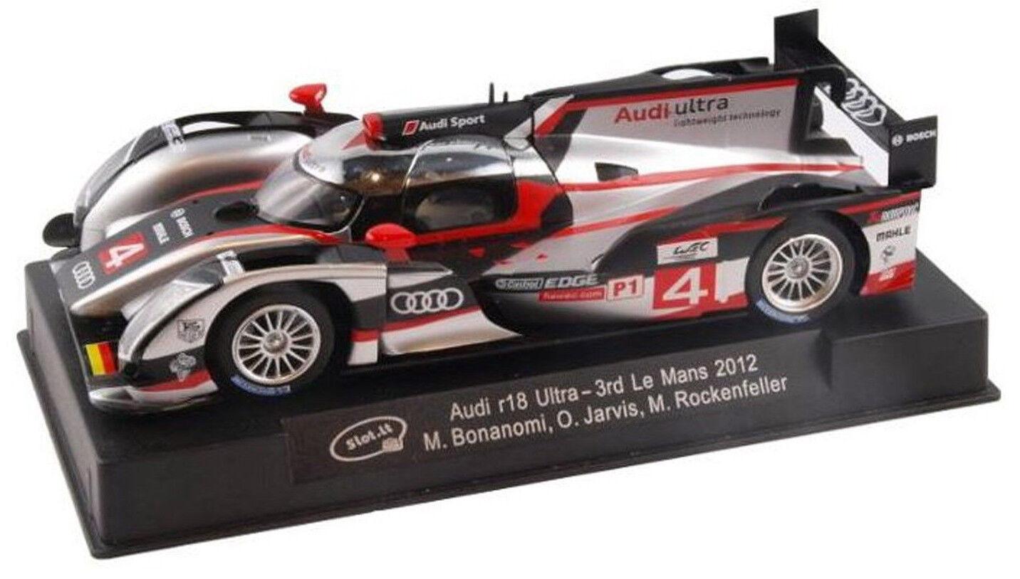 Slot It Audi R18 Ultra - 3rd 2012 Le Mans 1 32 Scale slot Car CA38A