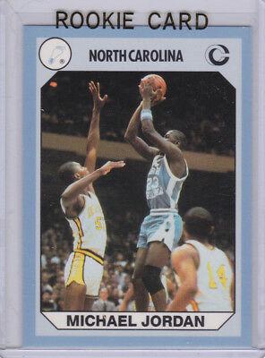 Michael Jordan Rc Chicago Bulls Basketball Rookie Card Ncaa College Unc 23 Le Ebay